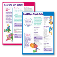 Lifting Safely at Work Poster 1