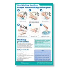 Picture of Hand Washing Poster