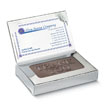 Thank You Dark Chocolate in Business Card Silver Box