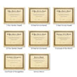 Picture of Personalized Aged Parchment Award Certificates