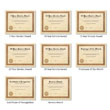 Picture of Personalized Parchment Award Certificates with Seal