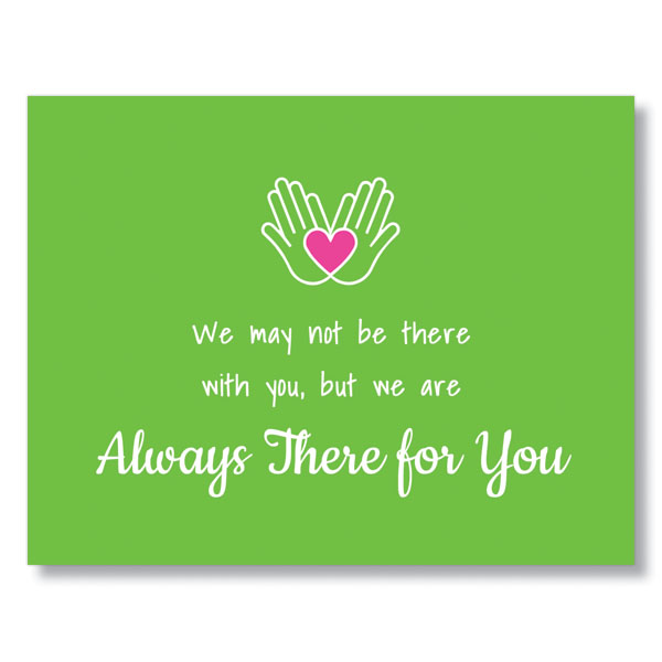 Heartfelt Support Greeting Card