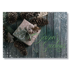 Rustic Greetings Hoilday Card
