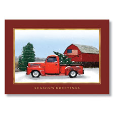 Holidays on the Farm Holiday Card