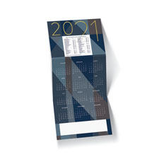 Geometric Pattern 2021 Holiday Card