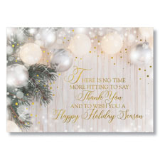 Shimmering Appreciation Holiday Card
