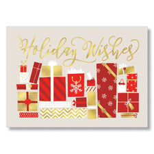 Holiday Gifts Holiday Card