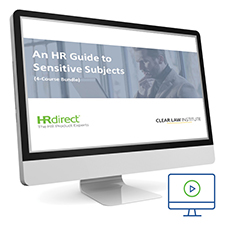 Picture of HR Guide to Sensitive Subjects Course