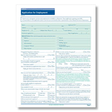 California State-Compliant Job Application