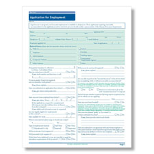 New York State-Compliant Job Application