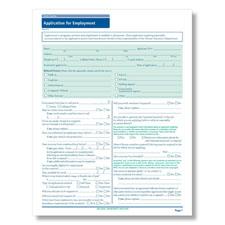 North Carolina State-Compliant Job Application
