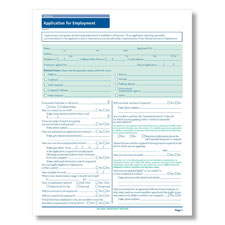 Oklahoma State-Compliant Job Application