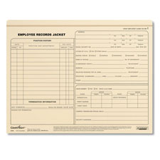 Employee Records Jackets- Letter Size