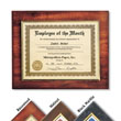 Certificates and Frames