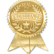 Give all your award certificates the professional touch with gold foil seals