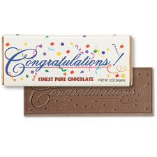 Congratulations Chocolate Bar