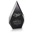Recognize your shining employees with this striking employee desktop award
