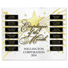 Star-Studded Employee of the Month Program Basic