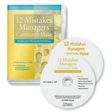 12 Mistakes Managers Make Training Program