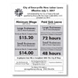 Emeryville Minimum Wage and Paid Sick Leave Poster