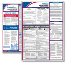 Massachsetts Federal & State Labor Law Poster