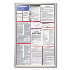 Federal Labor Law Poster Frame