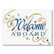 Welcome Aboard Cards