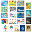 Use this business birthday card sampler as a way to send a birthday greeting that's sure to match each employee's personality.