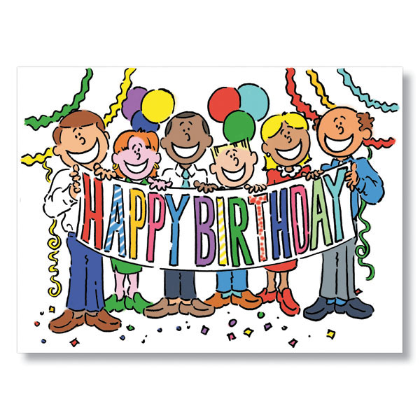 Birthday from all of us team birthday card birthday from all of us birthday card bookmarktalkfo Gallery