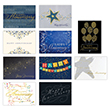 Anniversary assortment of elegantly designed cards will make each employee's anniversary memorable