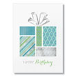 Stylish Patterned Gift Birthday Cards