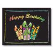 Bright Sketches Birthday Card