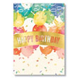 Birthday Banner and Balloons Card