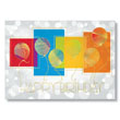 Check out this Rainbow Birthday Balloons postcard.