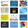 You'll be sure to remember each employee's birthday this year with this fabulous birthday card assortment.