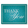 Show Your Appreciation in Style with the Paisley Thank You Card