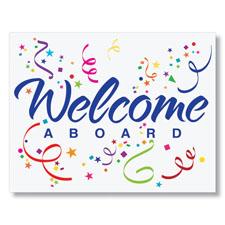Welcome Confetti Card