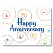 Stars and Swirls Anniversary Card