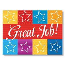 Great Job Appreciation Card
