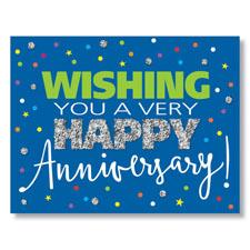 Anniversary Sparkle Card