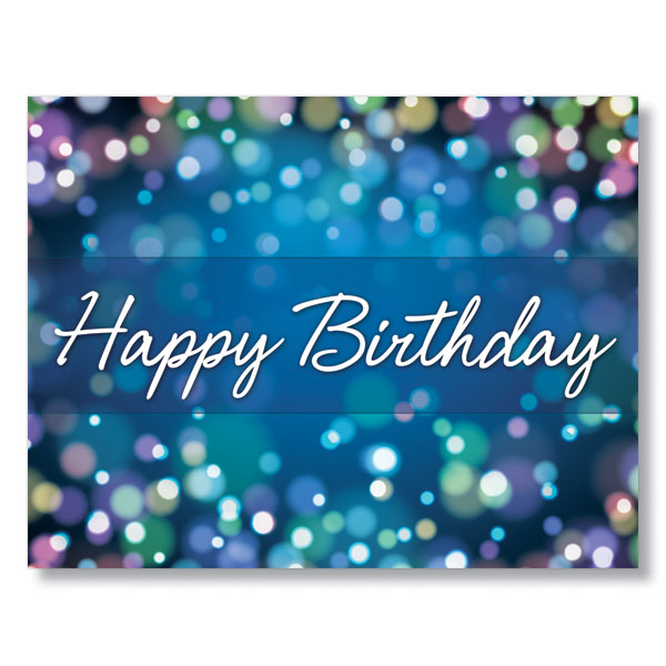 Birthday Sparkle Corporate Birthday Cards For Business