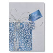 Silver Ribbon Birthday Cards