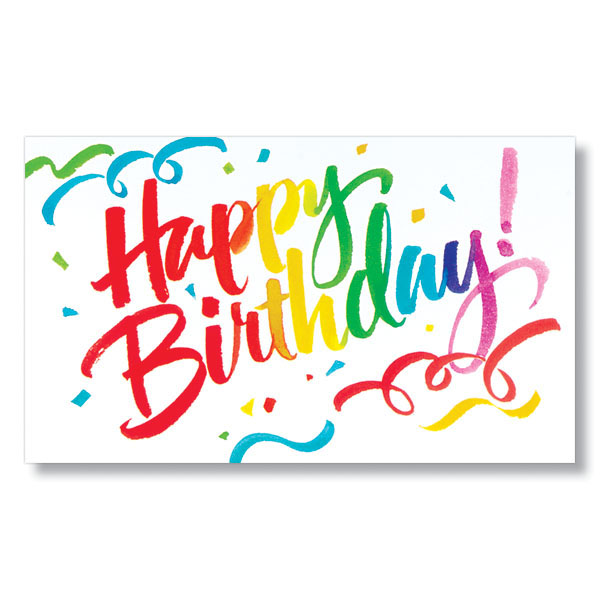Birthday confetti birthday cards m4hsunfo