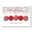 Seasonal Dots and Stripes Holiday Card