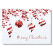 Peppermint Ornaments Holiday Card