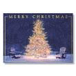 Treeside Adirondacks Holiday Card