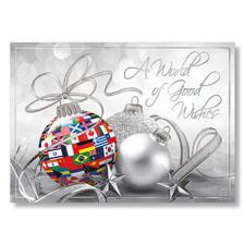 International Good Wishes Holiday Card
