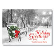 Serene Scene Greetings Holiday Card