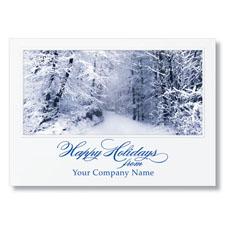 Placid Path Holiday Card