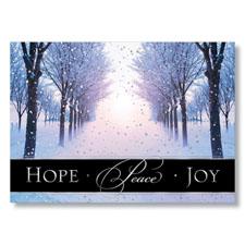 Peaceful Path Holiday Card